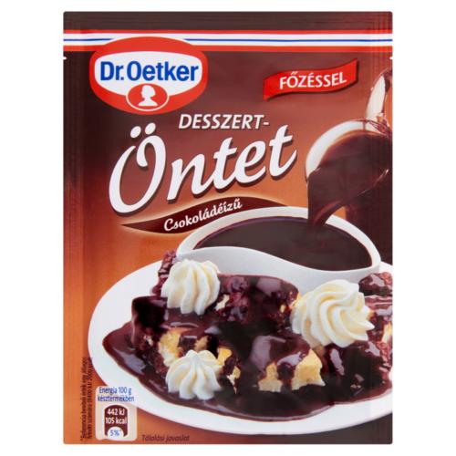 Dr.Oetker Desszert öntet Csoki 35g