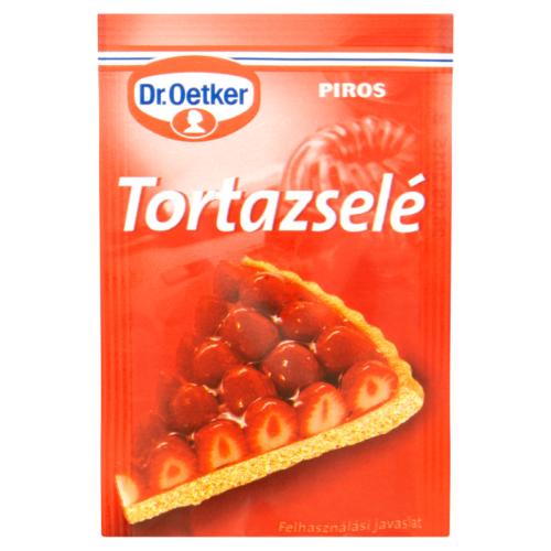Dr.Oetker Tortazselé Piros 12g