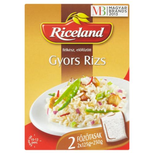 Riceland Gyorsrizs félkész előfőzött főzőtasakos 250 g