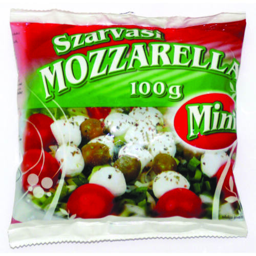 Szarvasi Mozzarella mini 100g  9153