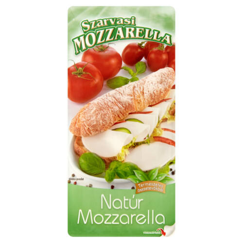 Szarvasi Szeletelt Mozzarella 100g 8428