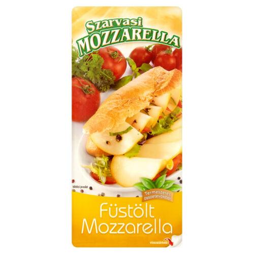 Szarvasi Szeletelt Mozzarella Füstölt 100g 8429