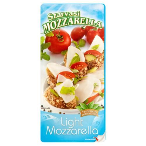Szarvasi Szeletelt Mozzarella Light 100g 8430