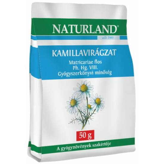 NATURLAND KAMILLAVIRÁGZAT TASAKOLT TEA 50G