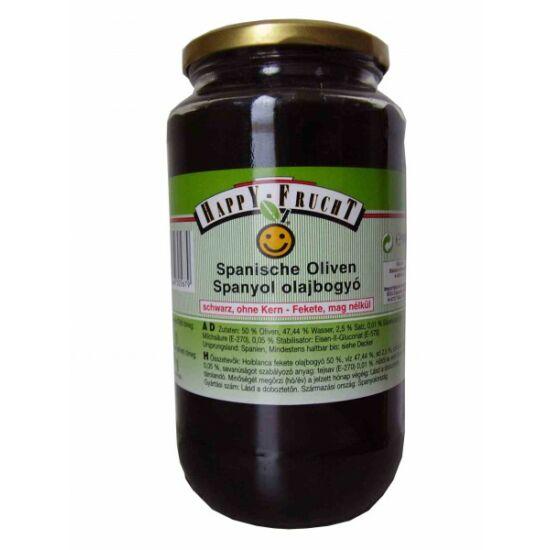 Happy Frucht olajbogyó fekete, mag n. 900 g